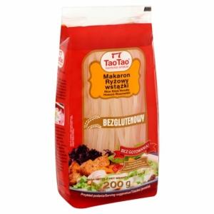 Tao Tao rizstészta szélesmetélt gluténmentes 200g