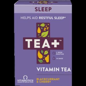 TEA+ feketeribizli és cseresznye megnyugtató alvás tea - 14 filter 28g