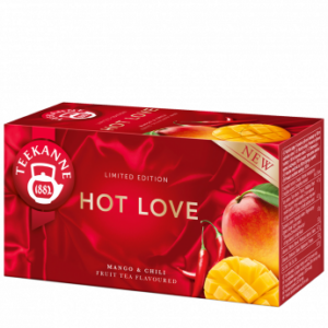 Teekanne Hot Love tea- 20 filter 40g