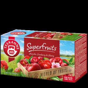 Teekanne Superfruits tea - 20 filter 45g