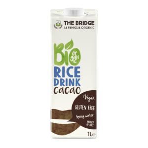 The Bridge bio kakaós rizsital 1000ml