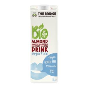 The Bridge bio mandulaital 3% cukormentes 1000ml