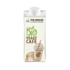 The Bridge bio mandulás és kávés rizsital veggy café 200ml