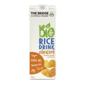 The Bridge bio mandulás rizsital 1000ml