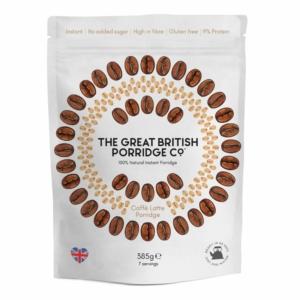 The Great British Porridge café latte zabkása 385g