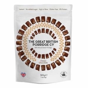 The Great British Porridge csokoládés zabkása 385g