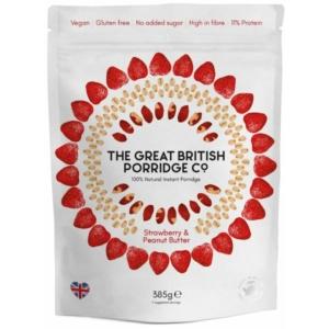 The Great British Porridge eper és mogyoróvaj zabkása 385g