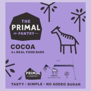 The Primal Pantry multipack kakaós szeletek 4x30g