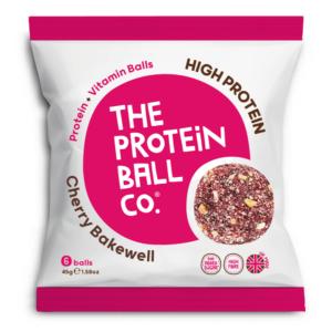 The Protein Ball Co. cseresznye és mandula protein golyók 45g