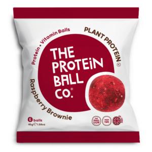 The Protein Ball Co. málnás brownie protein golyók 45g