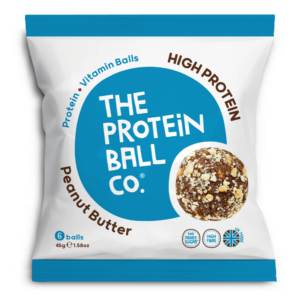 The Protein Ball Co. mogyoróvajas protein golyók 45g