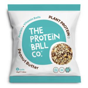 The Protein Ball Co. mogyoróvajas vegan protein golyók 45g