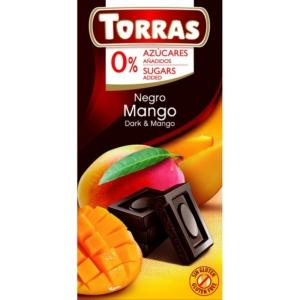 Torras mangós étcsokoládé 75g