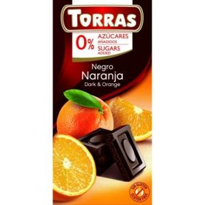 Torras narancsos étcsokoládé 75g