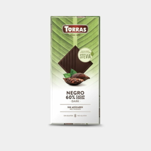 Torras Stevia étcsokoládé édesítőszerrel 100g