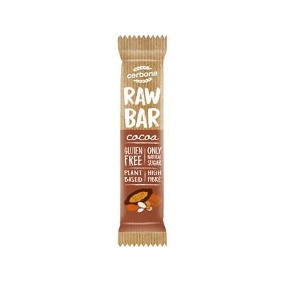 Cerbona raw bar kakaós szelet 30g