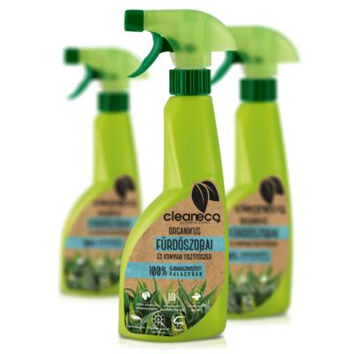 Cleaneco organikus fürdőszobai és konyhai tisztítószer 0,5l