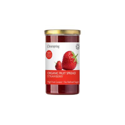 Clearspring bio gyümölcskrém - eper 280g