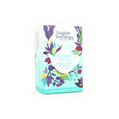English Tea Shop Because You're Amazing bio tea - 20 filter 37g