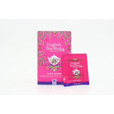 English Tea Shop Super Berries koffeinmentes bio tea - 20 filter 30g