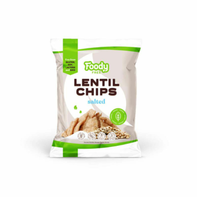 Foody Free gluténmentes lencse chips 50g