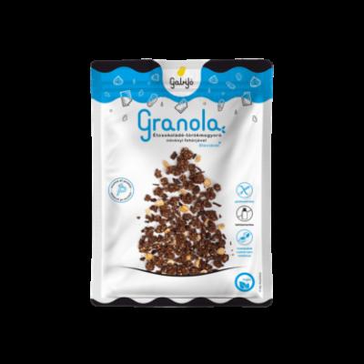 Gabijó granola étcsokoládé - törökmogyoró növényi fehérjével - protein 55g