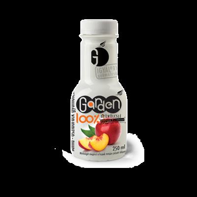 Garden 100% alma-őszibarack gyümölcslé 250ml