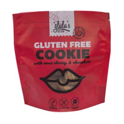Glulu's cukormentes meggyes-csokoládés keksz 100g