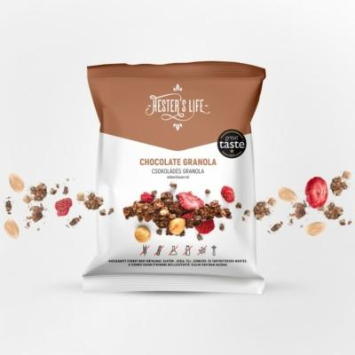 Hester's Life Chocolate Granola - csokoládés granola 60g