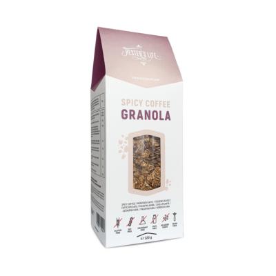 Hester's Life Spicy Coffee Granola - fűszeres kávés granola 320g