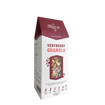 Hester's Life Veryberry Granola - ribizlis granola 320g