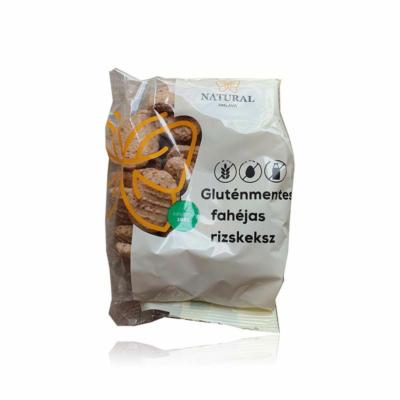 Natural gluténmentes rizskeksz - fahéjas 150g