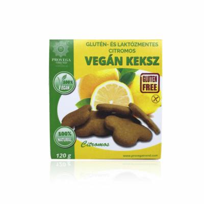 Provegatrend gluténmentes vegán citromos keksz 120g