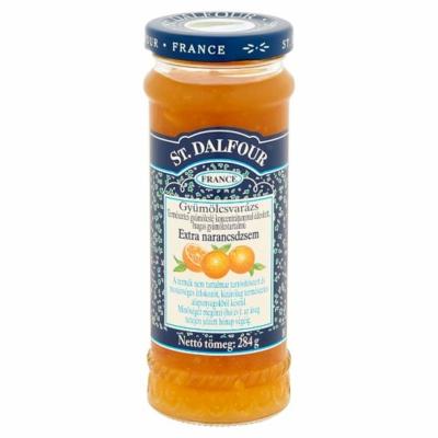 St.Dalfour gyümölcsvarázs extra narancsdzsem 284g