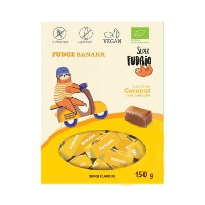 Super Fudgio bio tejmentes banános karamella 150g