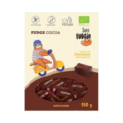 Super Fudgio bio tejmentes kakaós karamella 150g