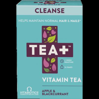 TEA+ alma és feketeribizli tisztító tea - 14 filter 28g
