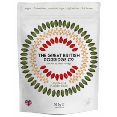 The Great British Porridge goji bogyó és tökmag zabkása 385g