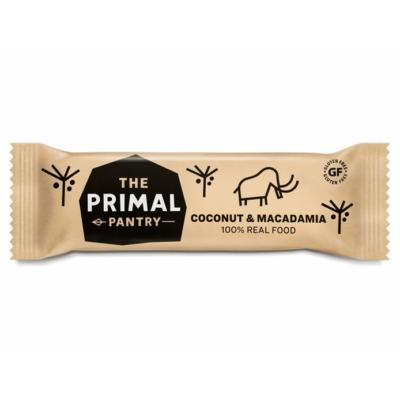 The Primal Pantry kókusz és makadámdió szelet 45g