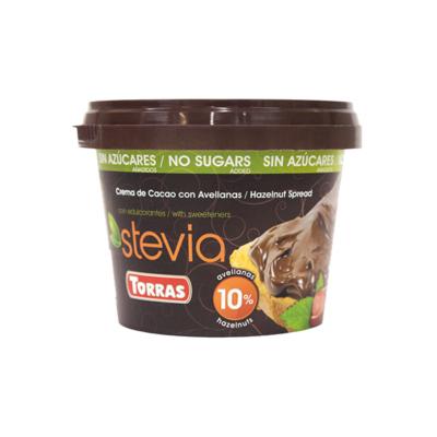 Torras Stevia mogyorókrém édesítőszerrel 200g