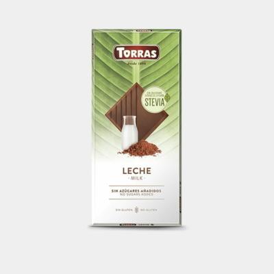 Torras Stevia tejcsokoládé édesítőszerrel 100g