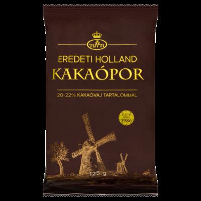Tutti holland kakaópor 20-22% zsírtartalommal 125g