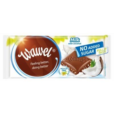 Wawel kókuszos tejcsokoládé 100g