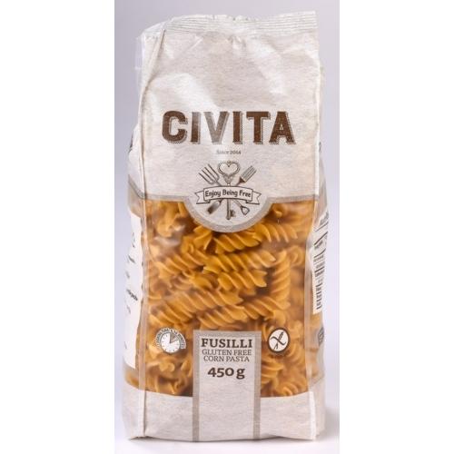 Civita tészta fusilli 450g