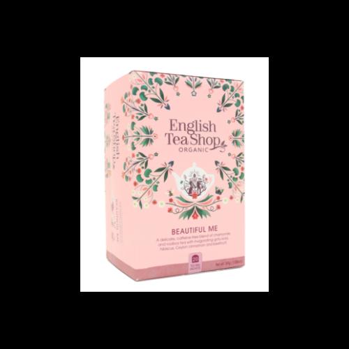 English Tea Shop Beautiful Me koffeinmentes bio tea - 20 filter 30g