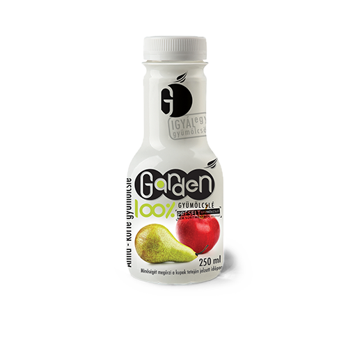 Garden 100% alma-körte gyümölcslé 250ml