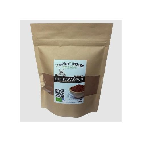 GreenMark Organic bio kakaópor 200g
