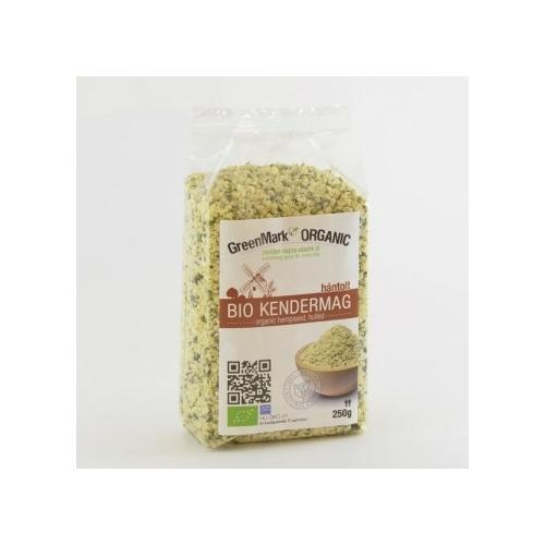 Greenmark Organic bio kendermag hántolt 250g