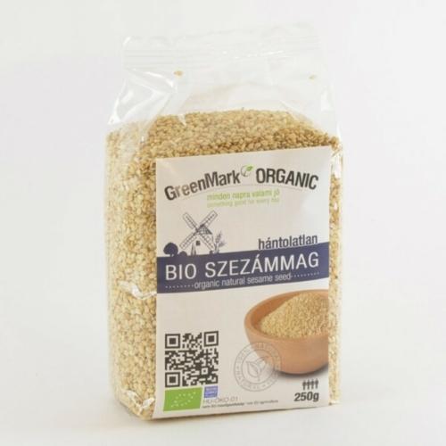 GreenMark Organic bio szezámmag hántolatlan 250g