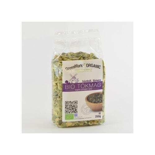 GreenMark Organic bio tökmag hántolt 250g